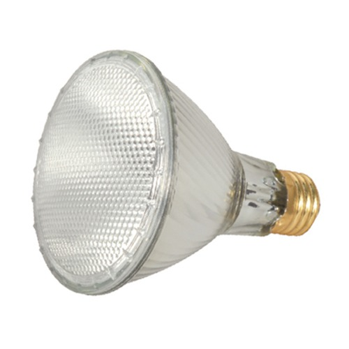 Satco Lighting Halogen PAR30 Light Bulb Medium Base Narrow Spot 9 Degree Beam Spread 3000K 120V Dimmable S2242