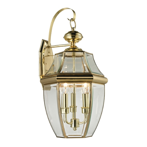 Cornerstone Lighting Cornerstone Lighting Ashford Antique Brass Outdoor Wall Light 8603EW/85