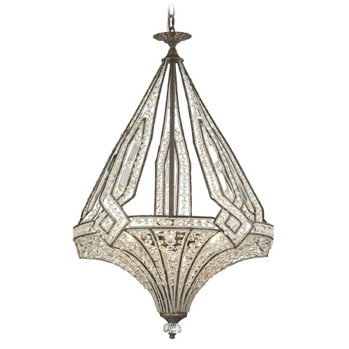 Elk Lighting Elk Lighting Jausten Antique Bronze Mini-Chandelier 11783/5