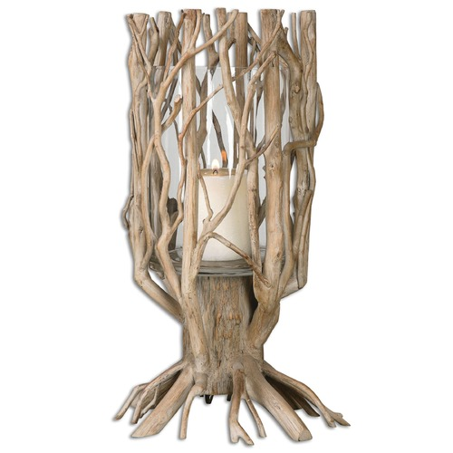 Uttermost Lighting Uttermost Ugo Natural Wood Candleholder 19917