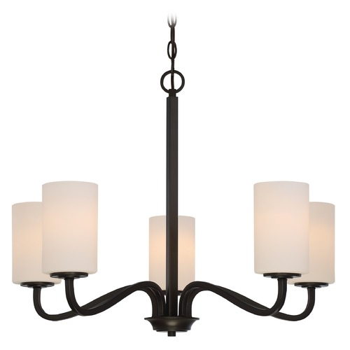 Nuvo Lighting Nuvo Lighting Willow Aged Bronze Chandelier 60/5905