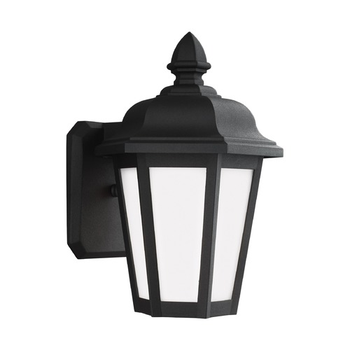 Sea Gull Lighting Sea Gull Lighting Brentwood Black Outdoor Wall Light 89822-12