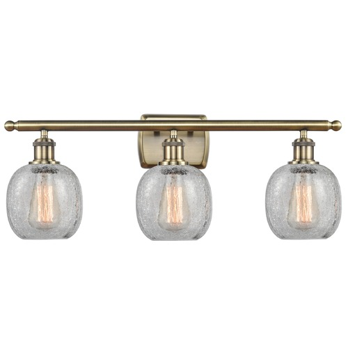 Innovations Lighting Innovations Lighting Belfast Antique Brass LED Bathroom Light 516-3W-AB-G105-LED