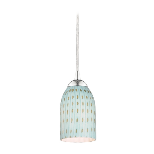 Design Classics Lighting Modern Mini-Pendant Light 582-26 GL1003D