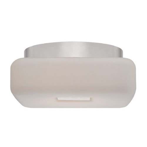 Modern Forms by WAC Lighting Modern Forms Vogue Brushed Nickel LED Flushmount Light FM-3109-BN