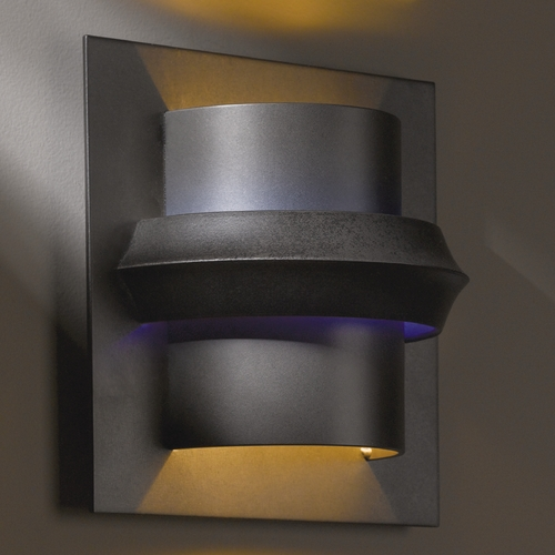 Hubbardton Forge Lighting Hubbardton Forge Lighting Twilight Dark Smoke Sconce 204915-07-E316