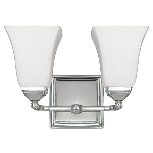 Capital Lighting Capital Lighting Polished Nickel Bathroom Light 8452PN-119