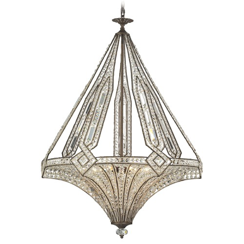 Elk Lighting Elk Lighting Jausten Antique Bronze Chandelier 11784/7