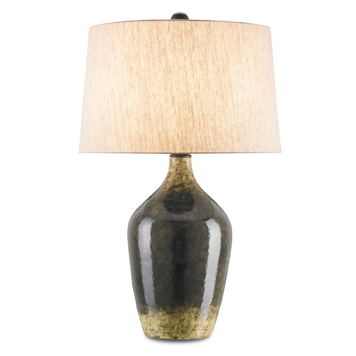 Currey and Company Lighting Currey and Company Moray Mushroom Brown Table Lamp with Empire Shade 6779
