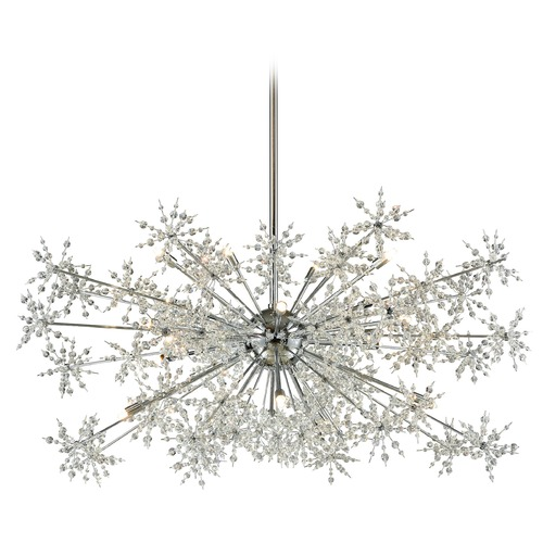 Elk Lighting Elk Lighting Snowburst Polished Chrome Pendant Light 11896/20
