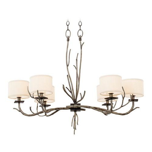 Kalco Lighting Kalco Denali Bronze Jewel Tone Chandelier 501050BJT