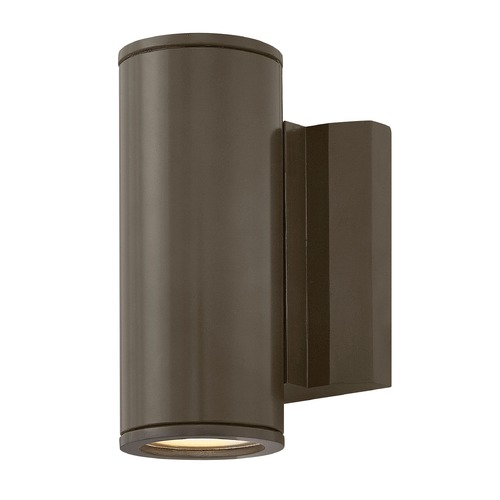 Hinkley lighting bronze led outdoor wall light by hinkley lighting 1876bz