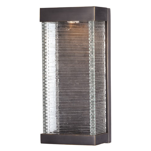 Maxim Lighting Maxim Lighting Stackhouse Bronze LED Outdoor Wall Light 55226CLBZ