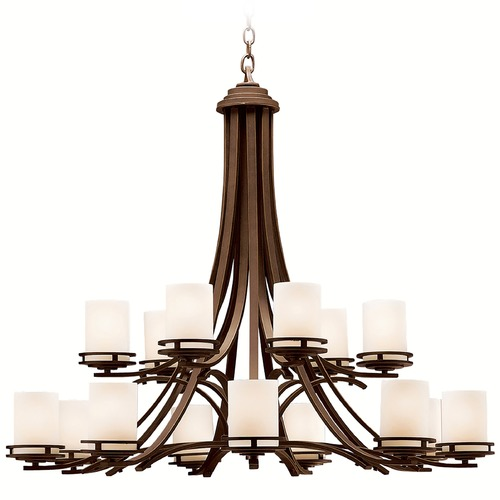 Kichler Lighting Kichler Modern 15-Light Chandelier in Olde Bronze 1675OZ