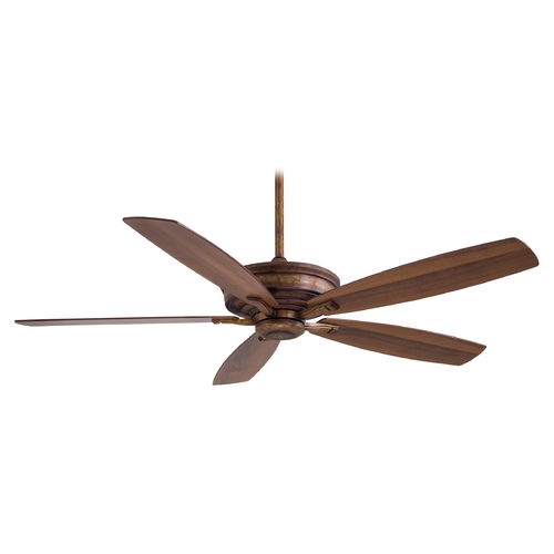 Minka Aire 60-Inch Ceiling Fan Without Light in Vineyard Patina Finish F696-VP