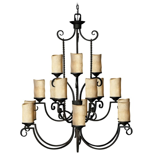 Hinkley Lighting 15-Light Chandelier 4019OL
