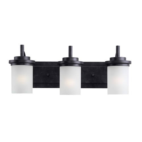 Sea Gull Lighting Sea Gull Lighting Winnetka Blacksmith Bathroom Light 44662BLE-839