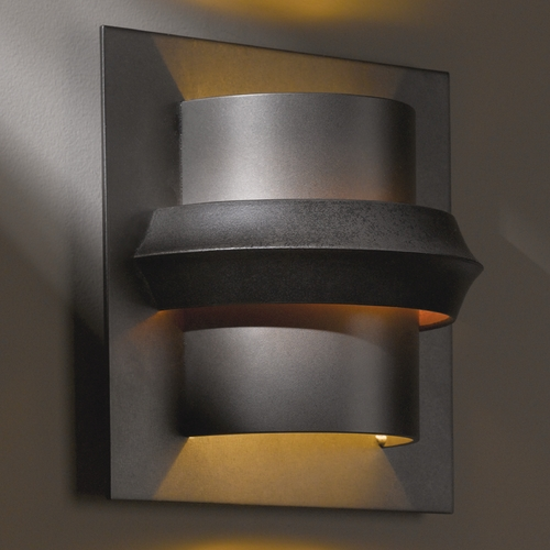 Hubbardton Forge Lighting Hubbardton Forge Lighting Twilight Dark Smoke Sconce 204915-07-F316
