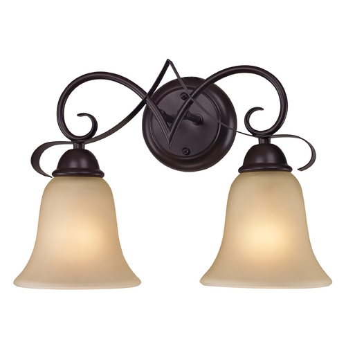Cornerstone Lighting Cornerstone Lighting Brighton Oil Rubbed Bronze Bathroom Light 1002BB/10