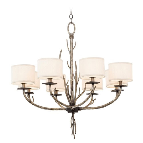 Kalco Lighting Kalco Denali Bronze Jewel Tone Chandelier 501051BJT