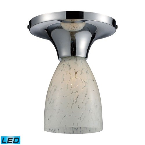 Elk Lighting Elk Lighting Celina Polished Chrome LED Semi-Flushmount Light 10152/1PC-SW-LED