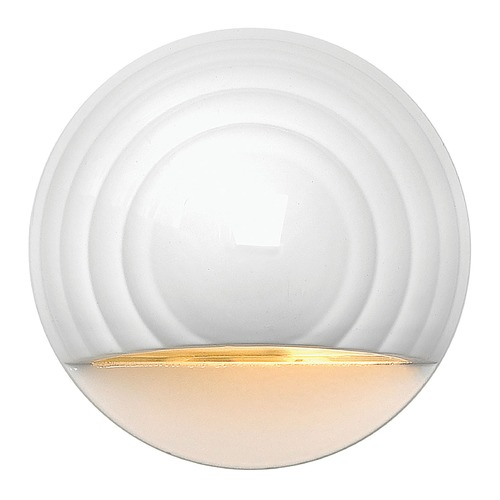 Hinkley Modern LED Recessed Deck Light in Matte White Finish 1549MW-LED