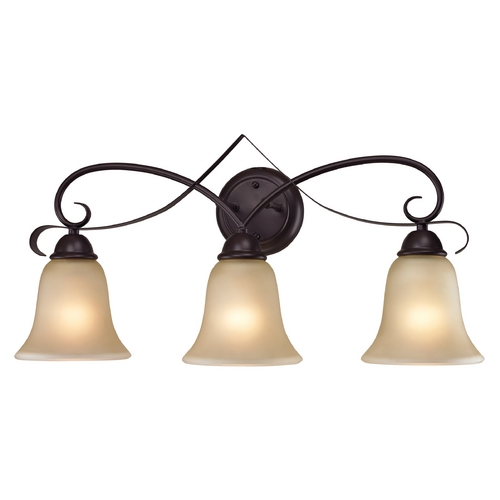 Cornerstone Lighting Cornerstone Lighting Brighton Oil Rubbed Bronze Bathroom Light 1003BB/10