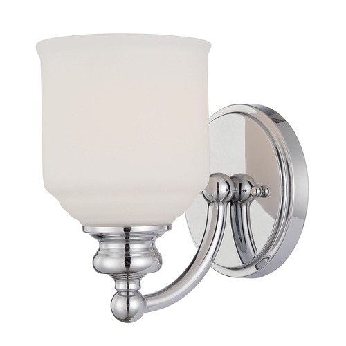 Savoy House Savoy House Lighting Polished Chrome Sconce 9-6836-1-11