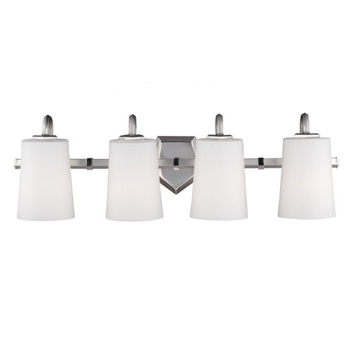 Feiss Lighting Feiss Lighting Pentagram Satin Nickel / Polished Nickel Bathroom Light VS20404SN/PN