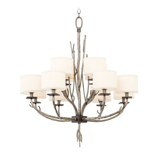 Kalco Lighting Kalco Denali Bronze Jewel Tone Chandelier 501052BJT