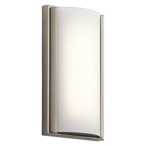 Elan Lighting Elan Lighting Bretto Brushed Nickel LED Sconce 83816