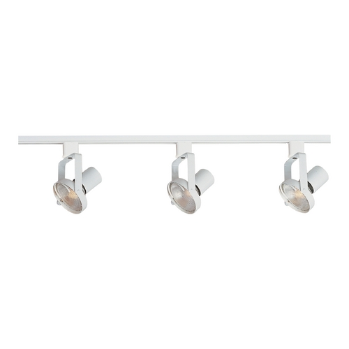 Maxim Lighting Modern Track Light Kit in White Finish 92320WT