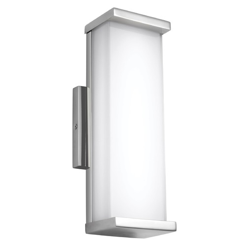 Feiss Lighting Feiss Lighting Altron Polished Stainless Steel LED Outdoor Wall Light WB1862PST-L1