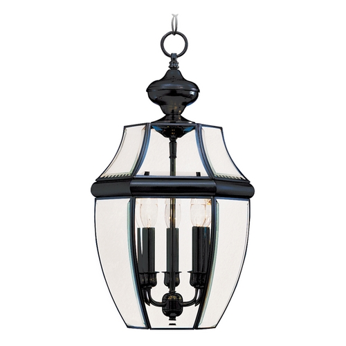 Maxim Lighting Maxim Lighting South Park Black Outdoor Hanging Light 6095CLBK