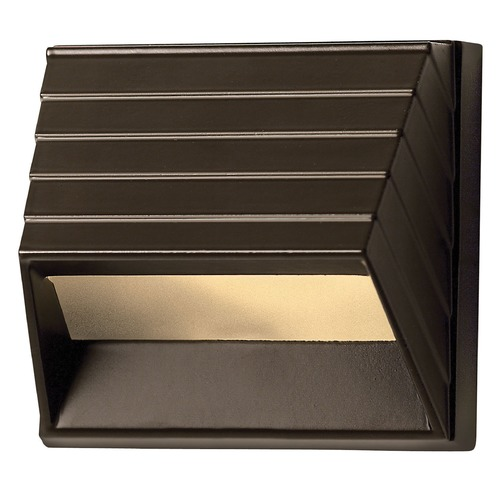 Hinkley Lighting Modern LED Recessed Deck Light in Bronze Finish 1524BZ-LED