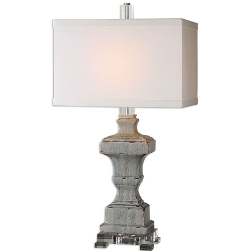 Uttermost Lighting Uttermost San Marcello Blue Glaze Lamp 26484-1