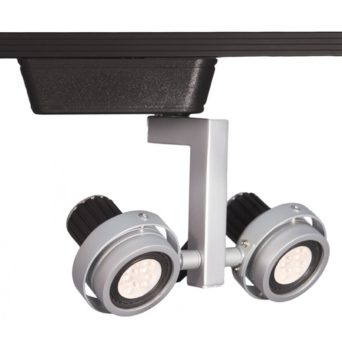 WAC Lighting Wac Lighting Platinum/black LED Track Light Head JHT-817LED-PT/BK