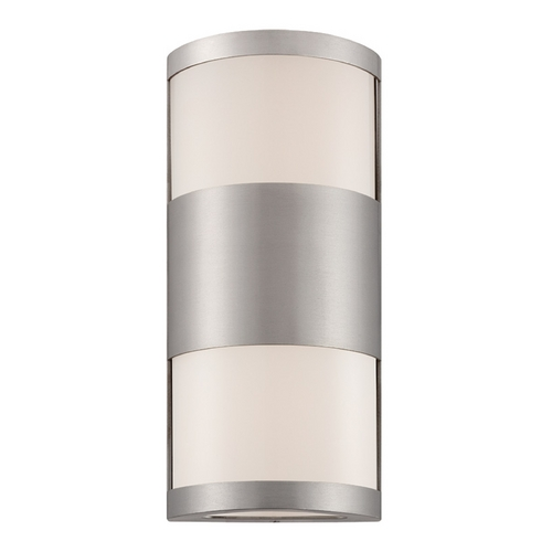 Modern Forms by WAC Lighting Modern Forms Cylo Brushed Aluminum LED Outdoor Wall Light WS-W2014-AL