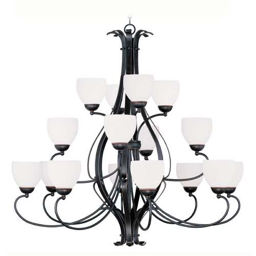 Livex Lighting Livex Lighting Brookside Olde Bronze Chandelier 4789-67