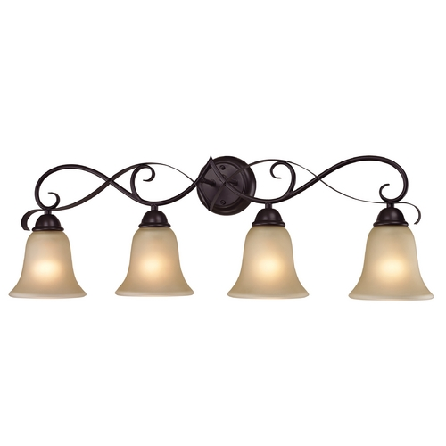 Cornerstone Lighting Cornerstone Lighting Brighton Oil Rubbed Bronze Bathroom Light 1004BB/10