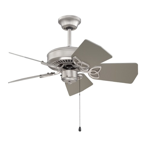 Craftmade Lighting Craftmade Lighting Piccolo Brushed Satin Nickel Ceiling Fan Without Light K10149
