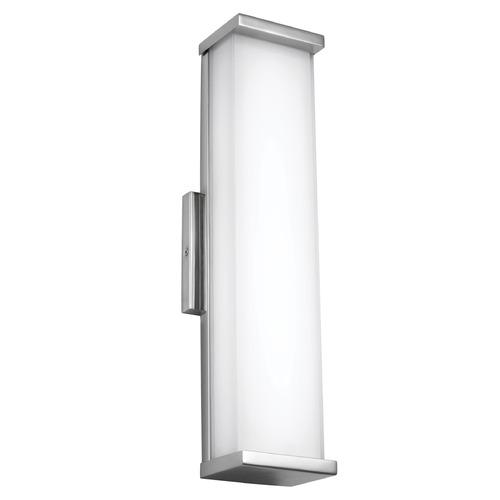 Feiss Lighting Feiss Lighting Altron Polished Stainless Steel LED Outdoor Wall Light WB1863PST-L1