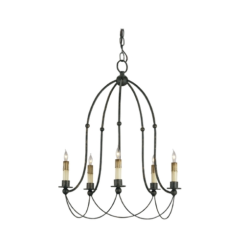 Currey and Company Lighting Mini-Chandelier in Mayfair Finish 9169