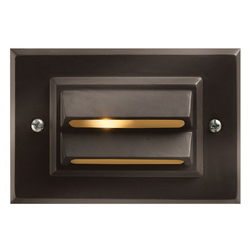 Hinkley Lighting Modern LED Recessed Deck Light in Bronze Finish 1546BZ-LED