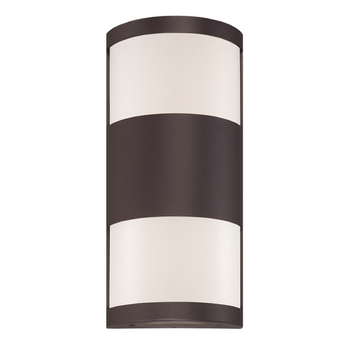 Modern Forms by WAC Lighting Modern Forms Cylo Bronze LED Outdoor Wall Light WS-W2014-BZ