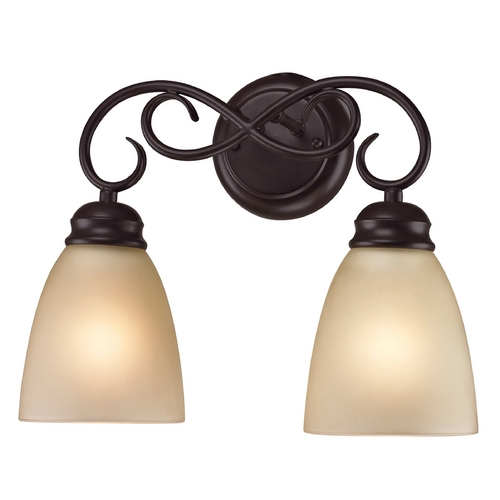 Cornerstone Lighting Cornerstone Lighting Chatham Oil Rubbed Bronze Bathroom Light 1102BB/10