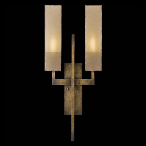 Fine Art Lamps Fine Art Lamps Perspectives Patinated Golden Bronze Sconce 733050GU