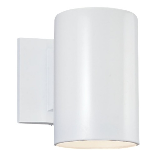 Sea Gull Lighting Sea Gull Lighting Outdoor Bullets White Outdoor Wall Light 8313901-15