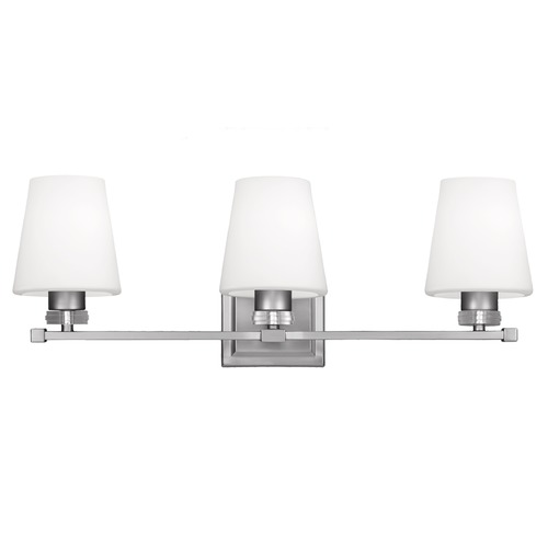Feiss Lighting Feiss Lighting Rouen Satin Nickel Bathroom Light VS22203SN