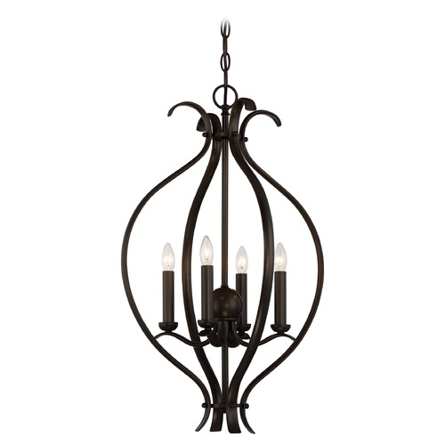 Nuvo Lighting Nuvo Lighting Dillard Aged Bronze Pendant Light 60/5910